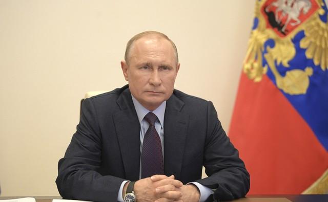В.В. Путин 6 мая 2020 года